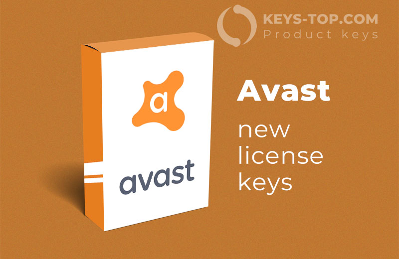 Free license keys for Avast