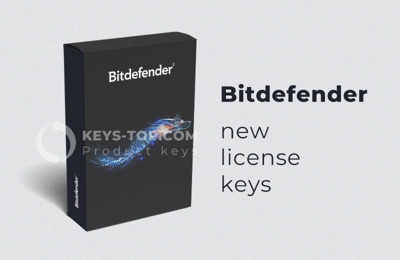 Free license keys for Bitdefender