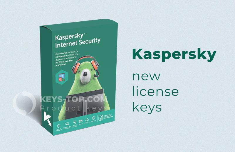 Free license keys for Kaspersky