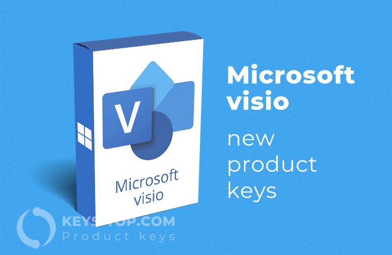 Microsoft Visio product keys for free