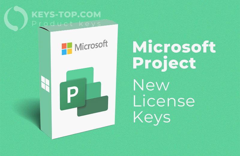 Microsoft Project product keys for free