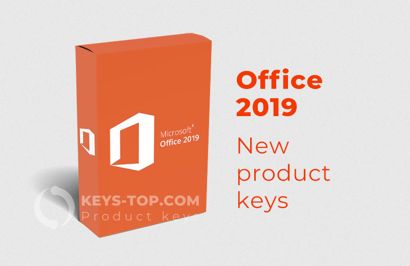 Microsoft Office 2019 product keys for free