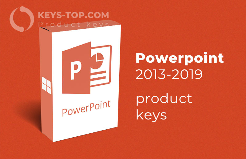 Microsoft PowerPoint product keys for free