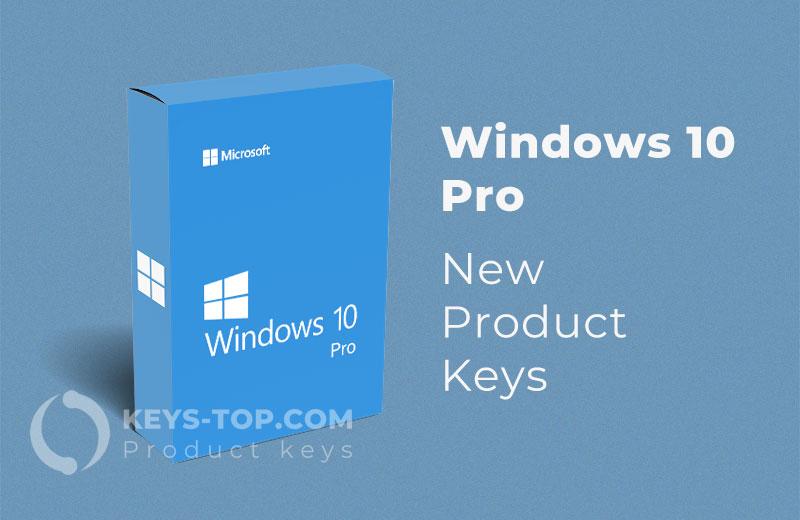 Free Windows 10 Pro Product Keys