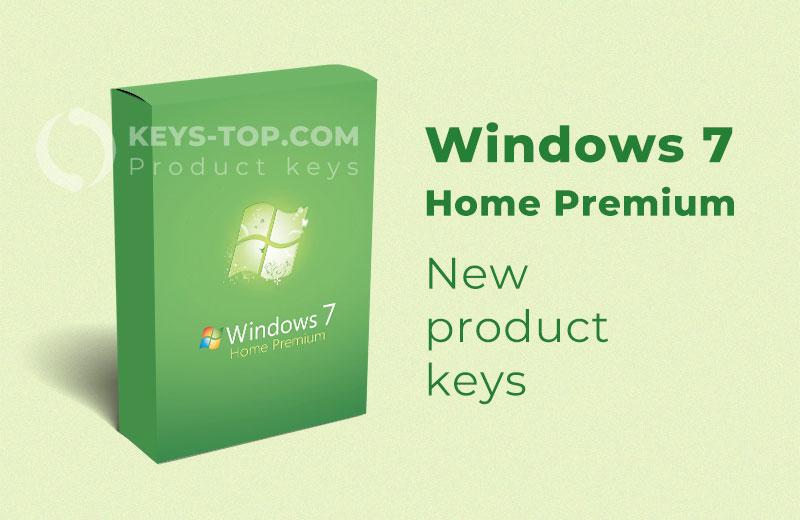 Free Windows 7 Home Premium product keys