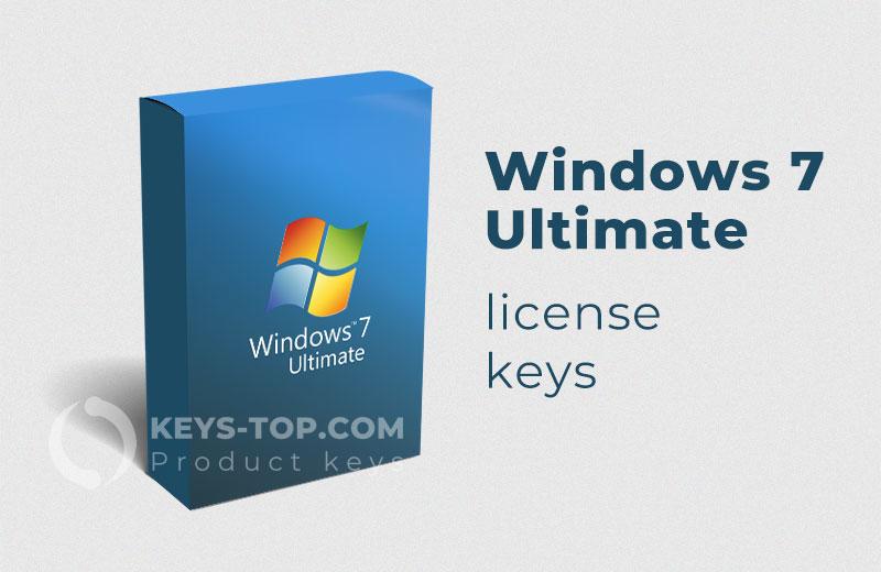 Free Windows 7 Ultimate License Keys